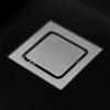 Lorreine Color-VK zwarte rvs spoelbak 40cm 40VK-CLR-BLACK zwart 1208920548