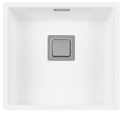 Lorreine Color-R witte rvs spoelbak 40cm 40R-CLR-WHITE wit 1208920525 kloon 12-02-2019 11:27:19