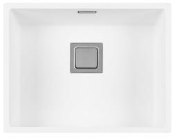 Lorreine Color-R witte rvs spoelbak 50cm 50R-CLR-WHITE wit 1208920528 kloon 12-02-2019 11:51:51