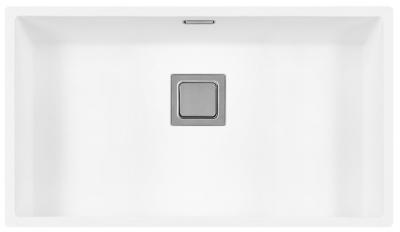 Lorreine Color-R witte rvs grote spoelbak 74cm 74R-CLR-WHITE wit 1208920530 kloon 12-02-2019 12:23:35