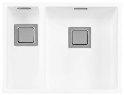 Lorreine Color-R wit rvs 1,5 spoelbak 1534cm 1534R-CLR-WHITE wit 1208920532 kloon 12-02-2019 12:32:50