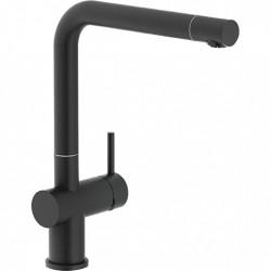 Franke Keukenkraan Active Plus matt black vaste uitloop 236 mm 115.0524.888