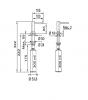 Franke Inbouw Zeepdispenser Active Chroom 119.0547.902