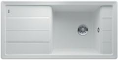 Blanco Faron enkele spoelbak met spoeltafel in wit XL 6 S - 524807