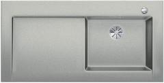 Blanco Modex-M 60 - enkele spoelbak met spoeltafel in parelgrijs - 523649