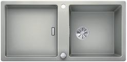 Blanco Adon XL 6 S - enkele spoelbak met spoeltafel in parelgrijs - 523607