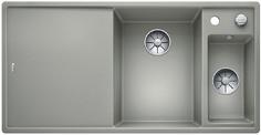 Blanco Axia III 6 S - 1.5 spoelbak met spoeltafel in parelgrijs - glazen snijplank - 523476