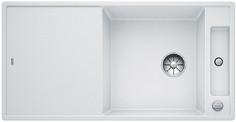 Blanco Axia III XL 6 S - spoelbak met spoeltafel in wit - snijplank in essenhout - 523504