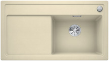 Blanco Zenar 5 S - enkele spoelbak en spoeltafel met draaiknopbediening in jasmijn - BR - 523939