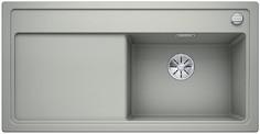 Blanco Zenar XL 6 S - enkele spoelbak en spoeltafel met draaiknopbediening in parelgrijs - BL - 523999