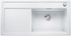Blanco Zenar XL 6 S StreamerPlus - enkele spoelbak en spoeltafel in wit - glazen snijplank - 524076