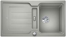 Blanco Classic Neo 5 S - enkele spoelbak en spoeltafel in parelgrijs - 524018