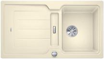 Blanco Classic Neo 5 S - enkele spoelbak en spoeltafel in jasmijn - 524020