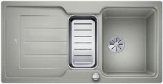 Blanco Classic Neo 6 S - enkele spoelbak en spoeltafel in parelgrijs - 524120