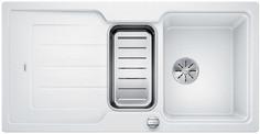 Blanco Classic Neo 6 S - enkele spoelbak en spoeltafel in wit - 524121