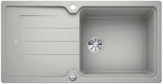 Blanco Classic Neo XL 6 S - enkele spoelbak met spoeltafel in parelgrijs  - 524130