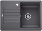 Blanco Zia 45 S Compact - enkele spoelbak met spoeltafel in rock grey - 524722