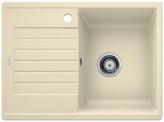 Blanco Zia 45 S Compact - enkele spoelbak met spoeltafel in jasmijn - 524726