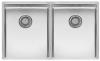 Reginox New York dubbele RVS spoelbak 34x40 + 34x40 T09T11LLU08GDS R28223