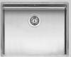 Reginox New York middel RVS spoelbak 50x40 met OKG plug R28131