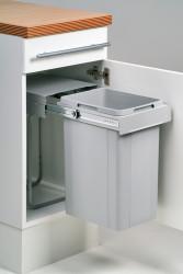 OUTLET Wesco Tradition Line Bio Single 32 liter inbouw afvalemmer