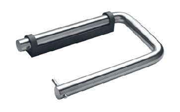 OUTLET D line Closetrolhouder rond 145 mm rvs gepolijst