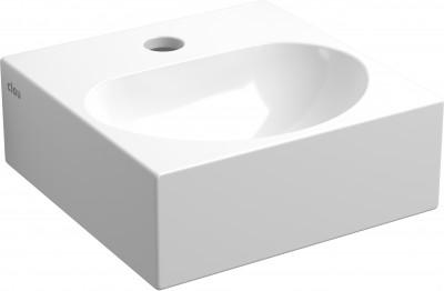 Clou Flush fontein (flush 4) met kraangat met plug wit keramiek PhotoFreestanding