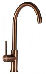 Ausmann Elbe keukenkraan PVD copper met draaibare uitloop 1208952360