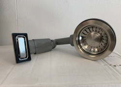 ABK korfplugset, afvoerset spoelbak incl. overloop KR01000027