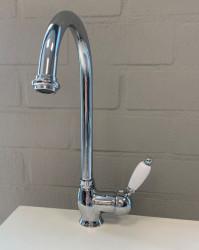 PB klassieke keukenkraan eenhendel met draaibare uitloop 200 mm RVS 1208953115