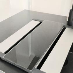 Caressi Design glazen snijplaat t.b.v. afdruiprooster CAGPDAR
