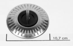 Franke korfplug zeef Turbo integraal afvoerplug 1330175967