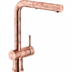 Franke Active Plus Keukenkraan koper Copper met uittrekbare uitloop 1208953925