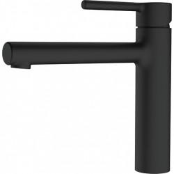 Franke Centro Keukenkraan mat zwart met draaibare uitloop 1208953926
