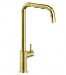 Reginox Leon gouden keukenkraan PVD Gold met draaibare uitloop R35276 1208954312