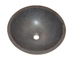 Blusani Basalt Stone opzet waskom 30 cm BB301100