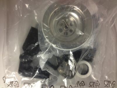 Reginox Afvoergarnituur met overloop voor spoelbak met automatische lediging M1785