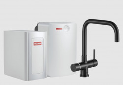 Franke Perfect4 Chilled Pollux Industrial Black Combi XL 119.0558.211