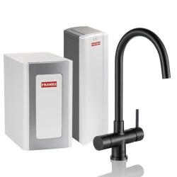 Franke Perfect4 Chilled Helix Industrial Black Combi XL 119.0558.207