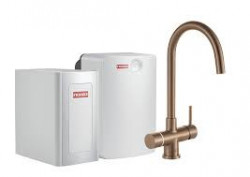 Franke Perfect4 Chilled Helix Industrial Copper Combi XL 119.0558.208