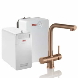 Franke Perfect6 Sparq Touch 6-in-1 Mondial Industrial Copper Combi XL 119.0558.276