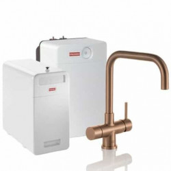 Franke Perfect6 Sparq Touch 6-in-1 Pollux Industrial Copper Combi XL 119.0558.284