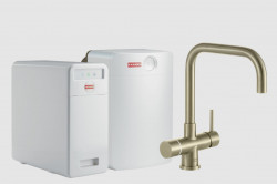 Franke Perfect6 Sparq Touch 6-in-1 Pollux Industrial Gold Combi XL 119.0558.285