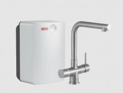 Franke Perfect3 Touch 3-in-1 Mondial RVS Combi XL 119.0563.765