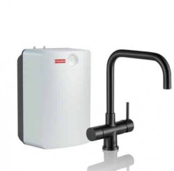 Franke Perfect3 Touch 3-in-1 Pollux Industrial Black Combi XL 119.0558.138
