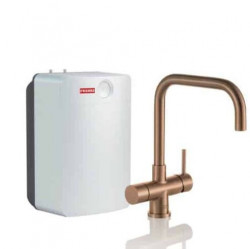 Franke Perfect3 Touch 3-in-1 Pollux Industrial Copper Combi XL 119.0558.139
