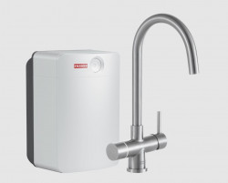 Franke Perfect3 Touch 3-in-1 Helix RVS Combi XL 119.0563.766