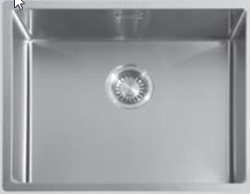 ABK Bingara 50f rvs spoelbak onderbouw KS51050002 4159-BIN50f