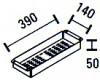 ABK RVS Restbak inzetbak BAR14 KS01014001