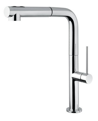 Design Keukenkraan met uittrekbare handdouche D1715
